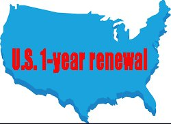 3) U.S. One-year Membership Renewal